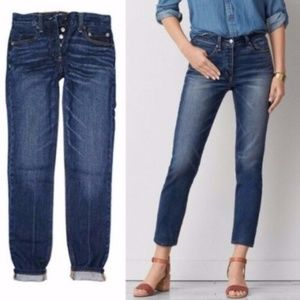 AEO Vintage High Rise Button Fly Jeans